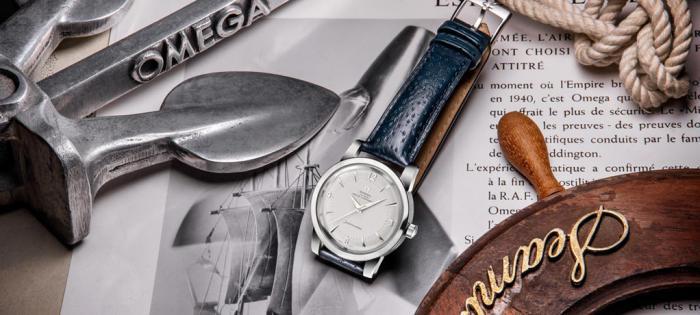 荣归巅峰之作——欧米茄全新海马系列1948限量版腕表