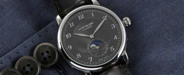 独家点评万宝龙明星Legacy系列月相手表,不同于一般的正装表