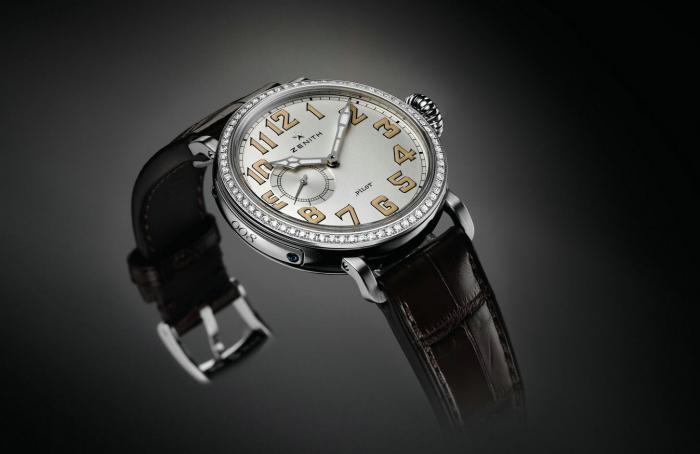 真力时飞行员系列Type20女装腕表——空中的飒爽英姿!