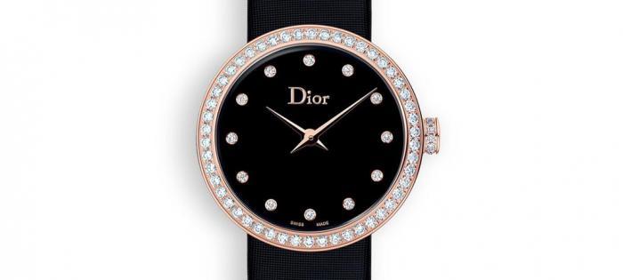 Dior 推出 La D de Dior 和 La D de Dior Satine 系列新作:缟玛瑙、珍珠母贝与红色表盘