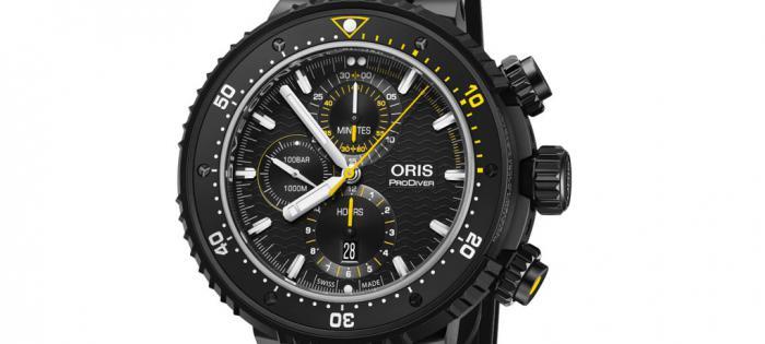适合专业潜水员的ORIS Dive Control限量潜水表