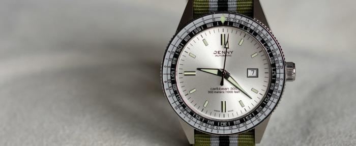50年前,能把所有品牌按在地上摩擦——Jenny Watches Caribbean潜水腕表