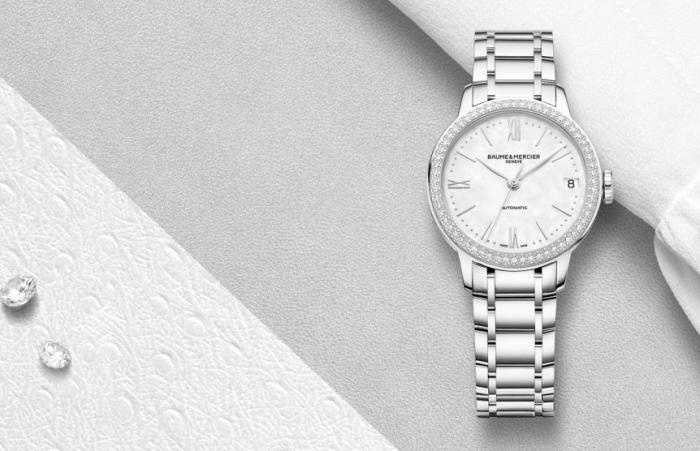 【SIHH 2019】2019日内瓦国际高级钟表展BAUME & MERCIER名士表推出克莱斯麦女装腕表系列的全新时计!