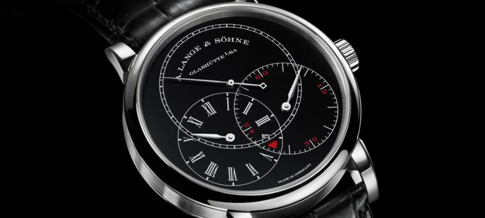 【SIHH 2019】朗格RICHARD LANGE JUMPING SECONDS  配备黑色表盘的18K白色K金款