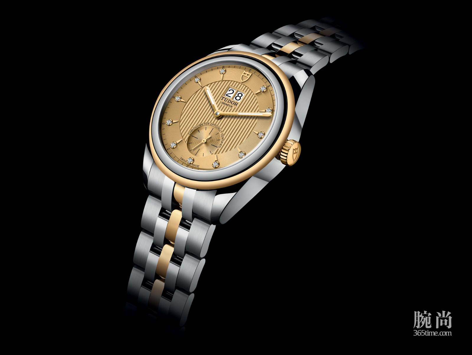 Tudor Glamour Double Date champagne-colour dial 1.jpg