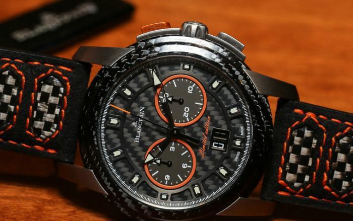 宝珀L-evolution开创系列飞返计时大日历限量腕表——极速火花!