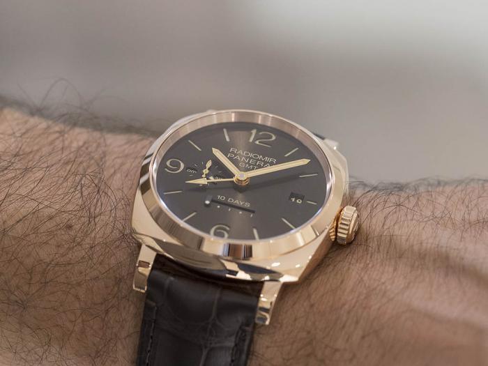 沛纳海RADIOMIR 1940十天动储两地时手表——耐力超群的老兵!
