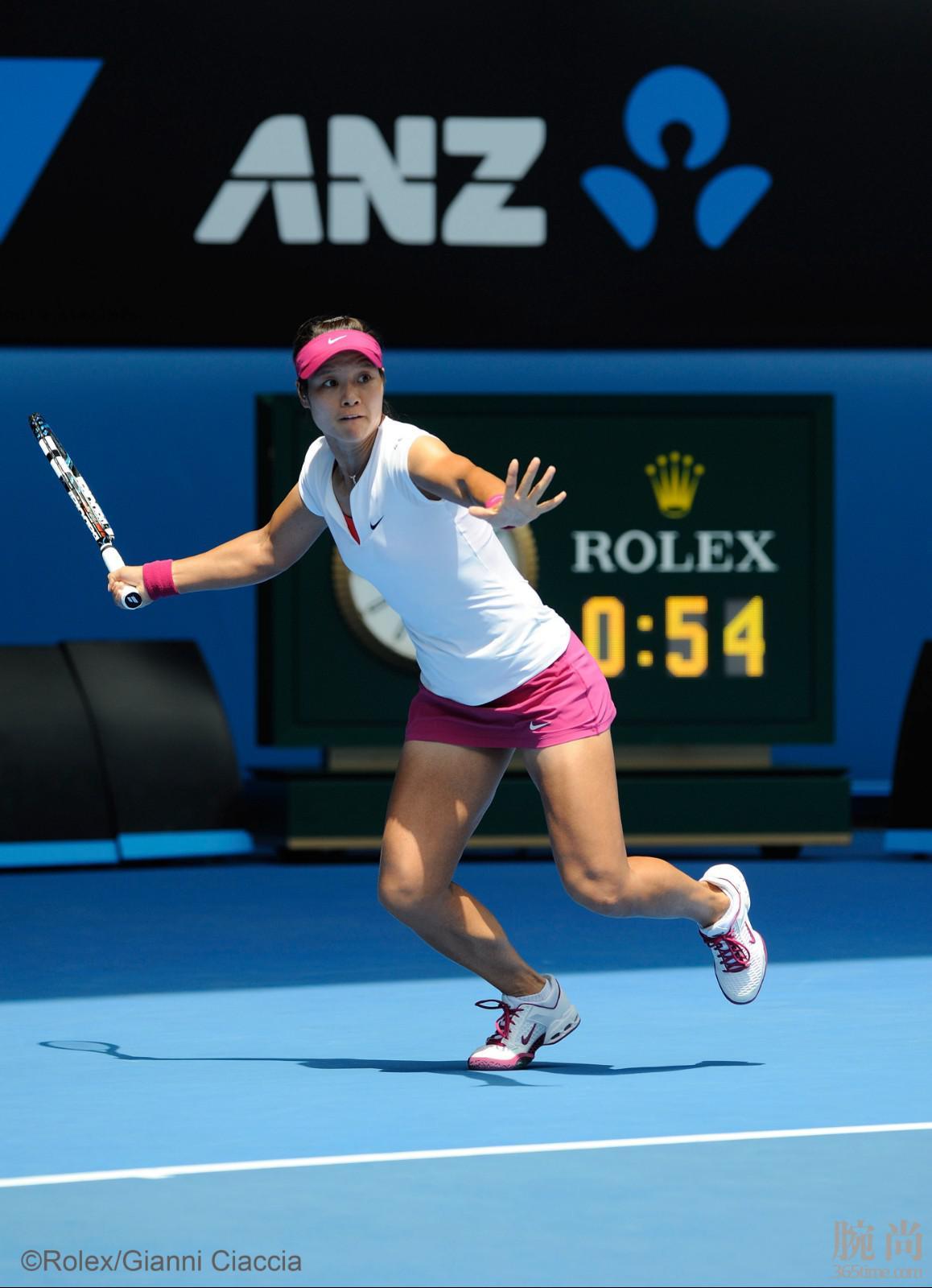 劳力士代言人李娜于2014年澳大利亚网球公开赛©Rolex Gianni Ciaccia.jpg