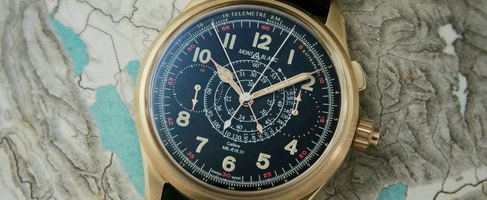 【SIHH 2019】为芯买单——万宝龙1858系列青铜追针计时码表