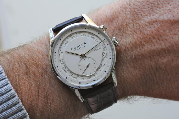NOMOS 苏黎世系列世界时805腕表——骨子里的德式傲娇!