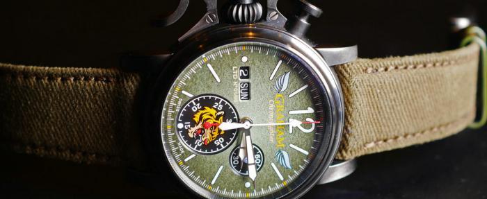 """虎啸长空——格林汉姆Chronofighter Vintage""""飞虎队""""计时码表"""