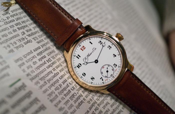 亨利慕时ENDEAVOUR系列小秒针布莱恩·费瑞限量版腕表——叛逆绅士!