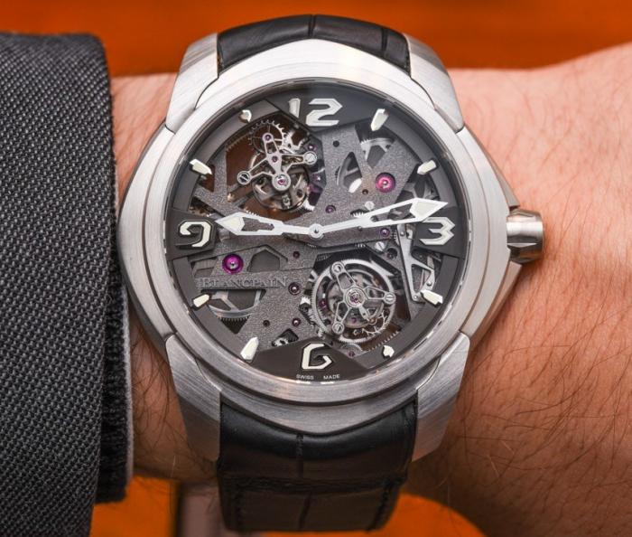 宝铂L-Evolution系列全新一分钟卡罗素陀飞轮腕表——独树一帜的创新!