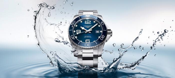 浪琴表优雅呈献全新康卡斯潜水系列腕表