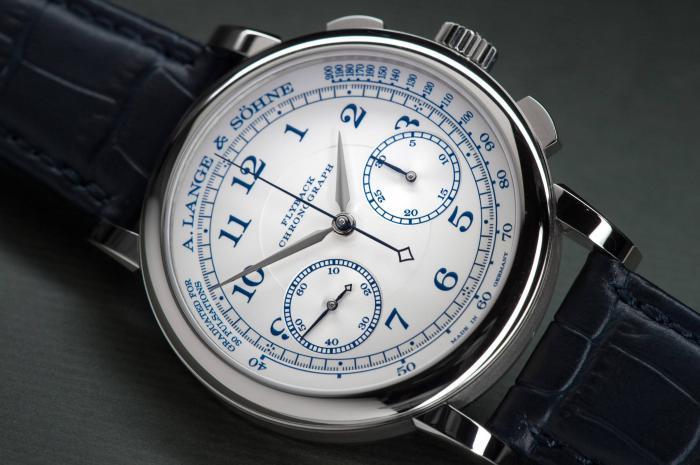 朗格1815计时专卖店特别款414.026——复古的优雅蓝色!