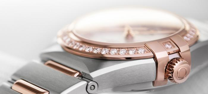 细节之处见真美——欧米茄星座系列曼哈顿女士腕表的制表工艺