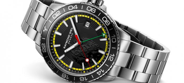 雷蒙威全新探戈系列鲍勃•马利限量腕表