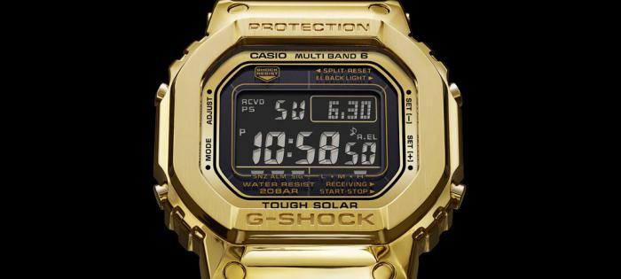 史上最贵G-Shock登场——价值70,000美元的18k金G-D5000-9JR(限量版)