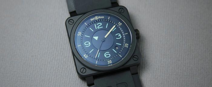 这个表头有点儿毒啊——柏莱士BR 03-92 Bi-Compass腕表