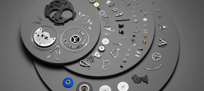 Louis Vuitton 推出 Voyager Minute Repeater Flying Tourbillon 蓝宝石表盘三问陀飞轮腕表