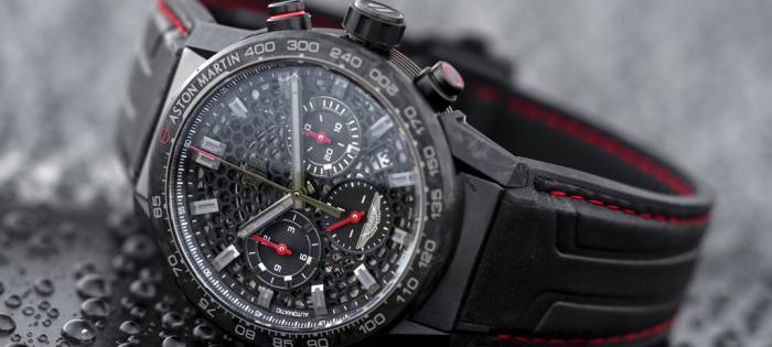 TAG Heuer泰格豪雅推出卡莱拉系列Heuer 02阿斯顿·马丁DBS Superleggera特别版限量腕表