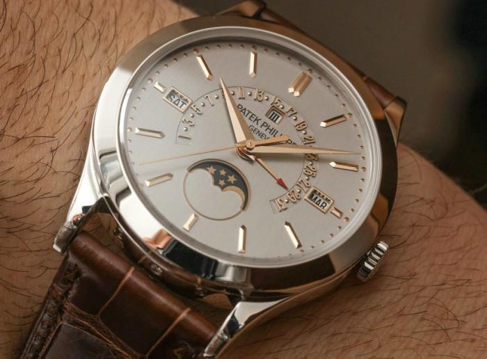 百达翡丽5496P-015铂金万年历腕表——用简洁展示复杂!