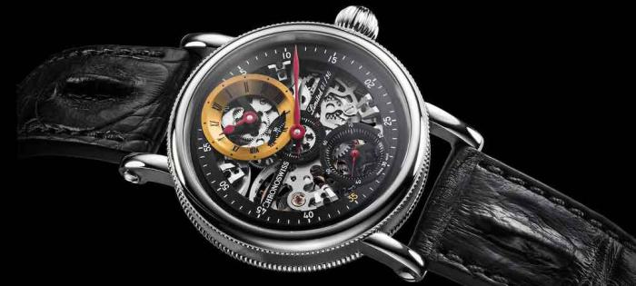 Chronoswiss 瑞宝推出 Flying Grand Regulator Skeleton 大表壳版镂空整时器腕表