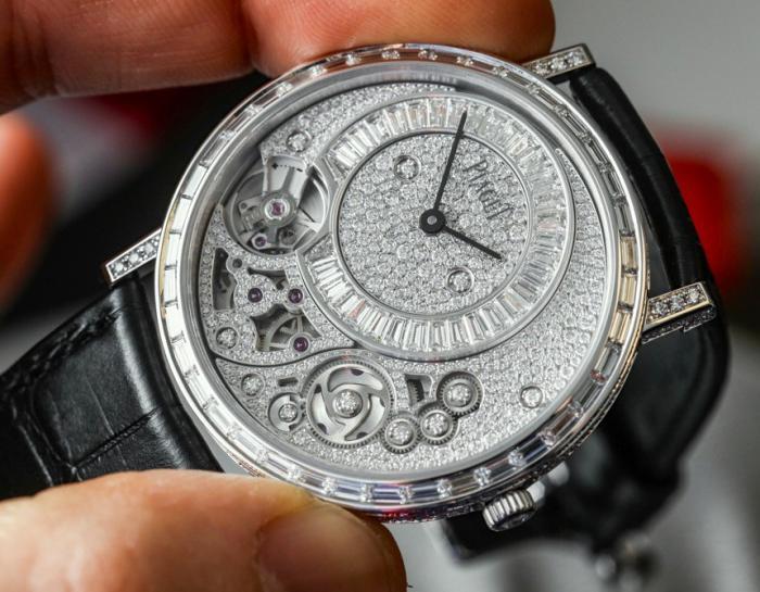 伯爵Altiplano 38毫米900D——突破超薄极限的珠宝腕表!