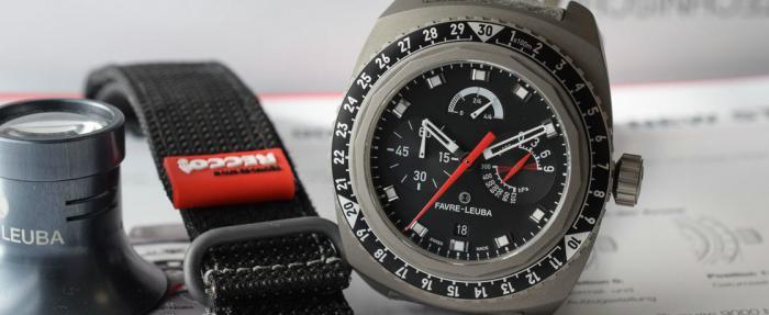 持续征服——Favre-Leuba Bivouac 9000黑盘腕表