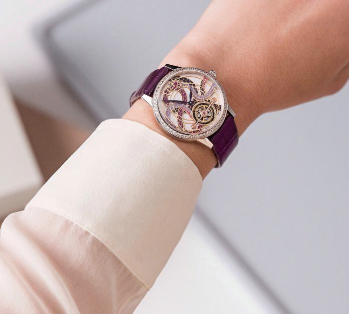 万宝龙宝曦系列外置框架陀飞轮灵蛇珠宝特别版腕表——光彩夺目的腕上精灵!