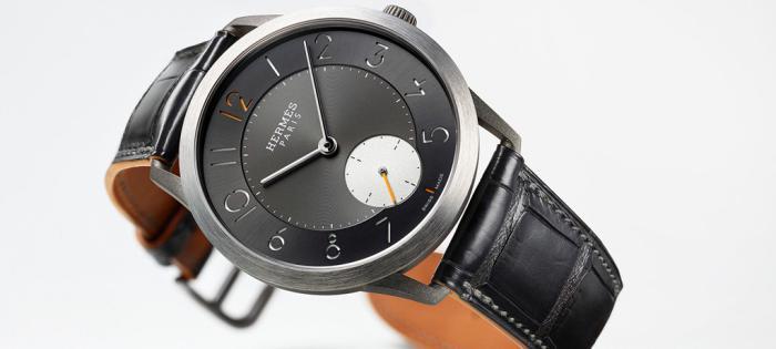 爱马仕推出全新Slim d`Hermès Titane腕表