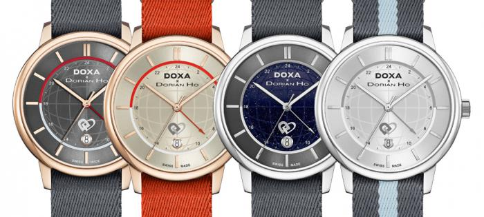 【Baselworld 2019】DOXA x Dorian Ho Love Quartet Collection 「爱情四部曲」时计系列 三部曲—Earlymoon 相聚时刻