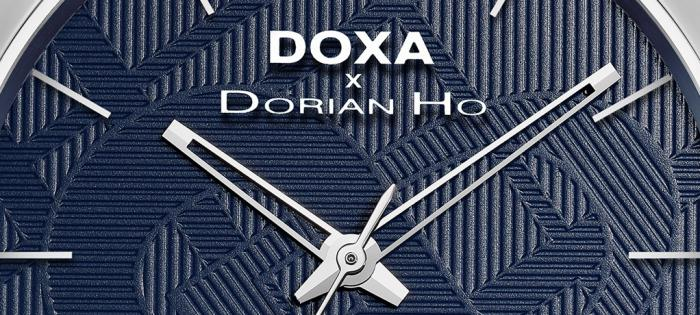 【Baselworld 2019】DOXA x Dorian Ho Love Quartet Collection 「爱情四部曲」时计系列 二部曲—Tie the Knot 热恋