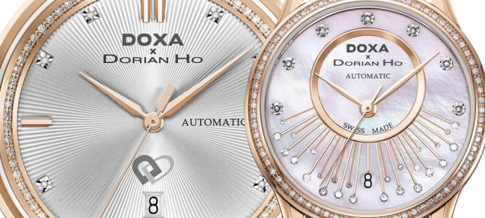 【Baselworld 2019】DOXA x Dorian Ho Love Quartet Collection 「爱情四部曲」时计系列 四部曲—Tux and Gown 共渡甜蜜