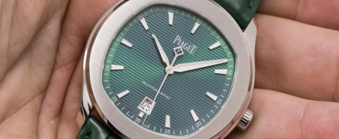 绿的让人怦然心动——伯爵Polo S绿盘腕表