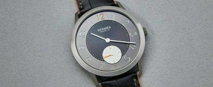 正装表也能戴出运动范儿——爱马仕Slim d' Hermès钛合金腕表