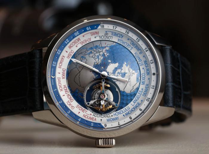 积家地球物理天文台系列世界时间陀飞轮腕表——让世界转动起来!