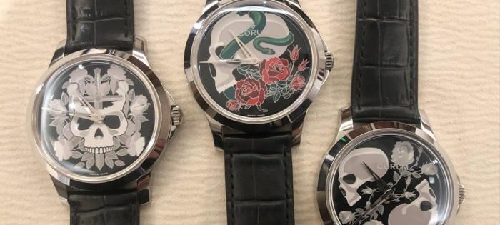 以衰亡庆祝生命旅程 昆仑表推出新一代以虚空派艺术作为题材的手绘腕表