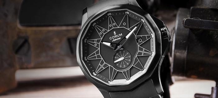 黑暗将领酷炫降临昆仑表首次为畅销系列Admiral 42推出一款充满神秘气息的前卫腕表