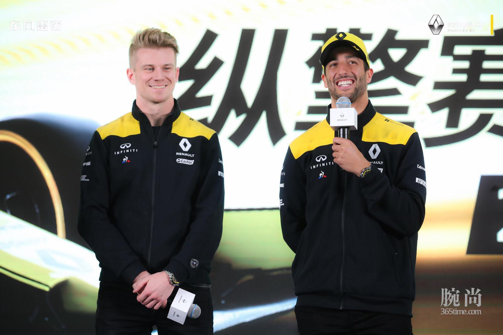 雷诺F1车队赛车手 尼古拉斯__霍肯伯格 和丹尼尔__里卡多.jpg
