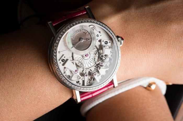 宝玑传世系列Tradition 7038女士腕表——传统与古老的重新诠释!