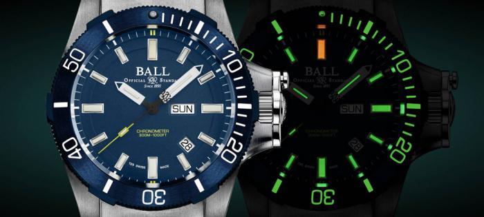 BALL WATCH专业潜水腕表再添新作 Submarine Warfare