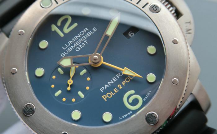 沛纳海Luminor 1950系列'Pole2Pole'3日链GMT专业潜水自动腕表——极端环境下的完美旅伴!