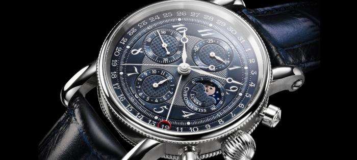 Chronoswiss 瑞宝推出 Sirius Chronograph Moon Phase 2019 月相计时码表