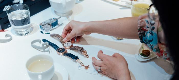康斯登颂赞美的乐章 - 女装腕表系列展览