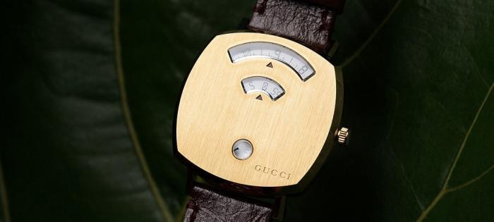 Gucci 推出 Grip 石英腕表:致敬70年代
