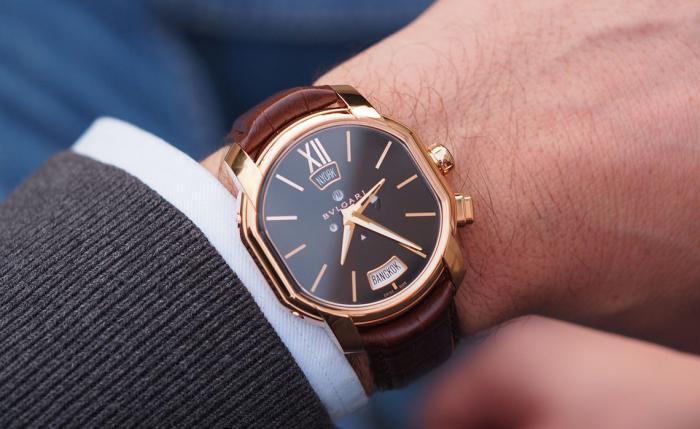 宝格丽Hora Domus多时区显示腕表——简洁的多时区显示!