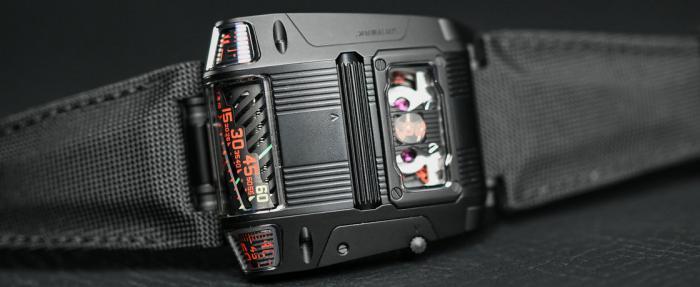 红与黑——Urwerk UR-111C Black Cobra腕表