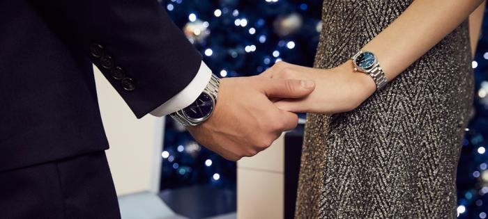 浪琴表优雅形象大使林志玲浪漫甄选: 腕间情侣对表,伴你开启甜蜜表白季