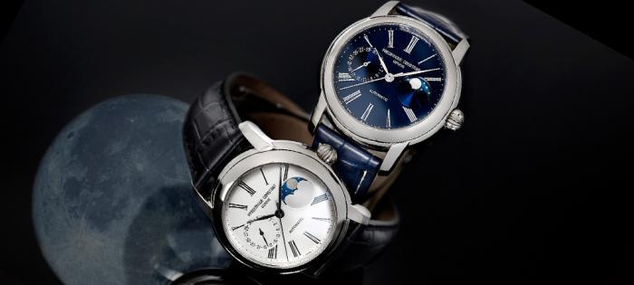 康斯登呈献经典自家机芯月相腕表并推出全新自制机芯